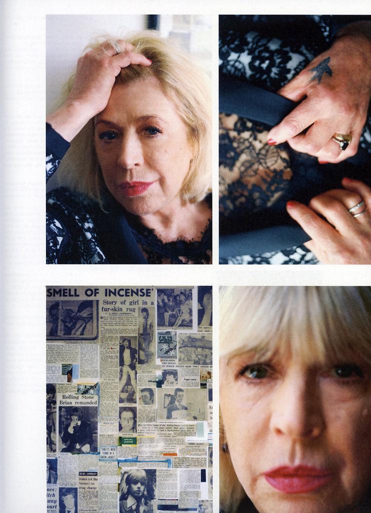 Marianne Faithfull Purple Fashion 2014
