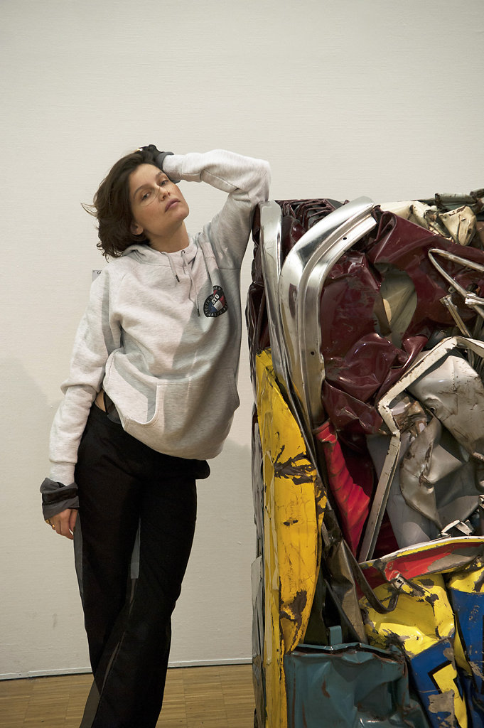 Laetitia Casta César Compression Ricard Centre Pompidou Paris 2016 Lurve Magazine