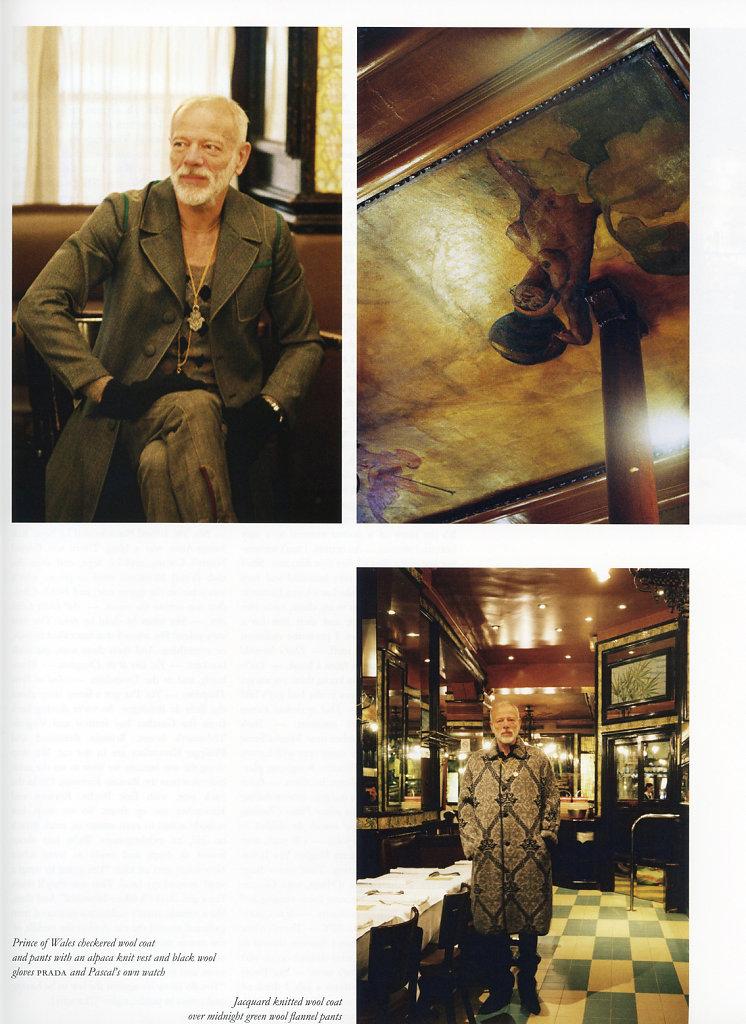 Pascal Greggory Purple Fashion 2016/17