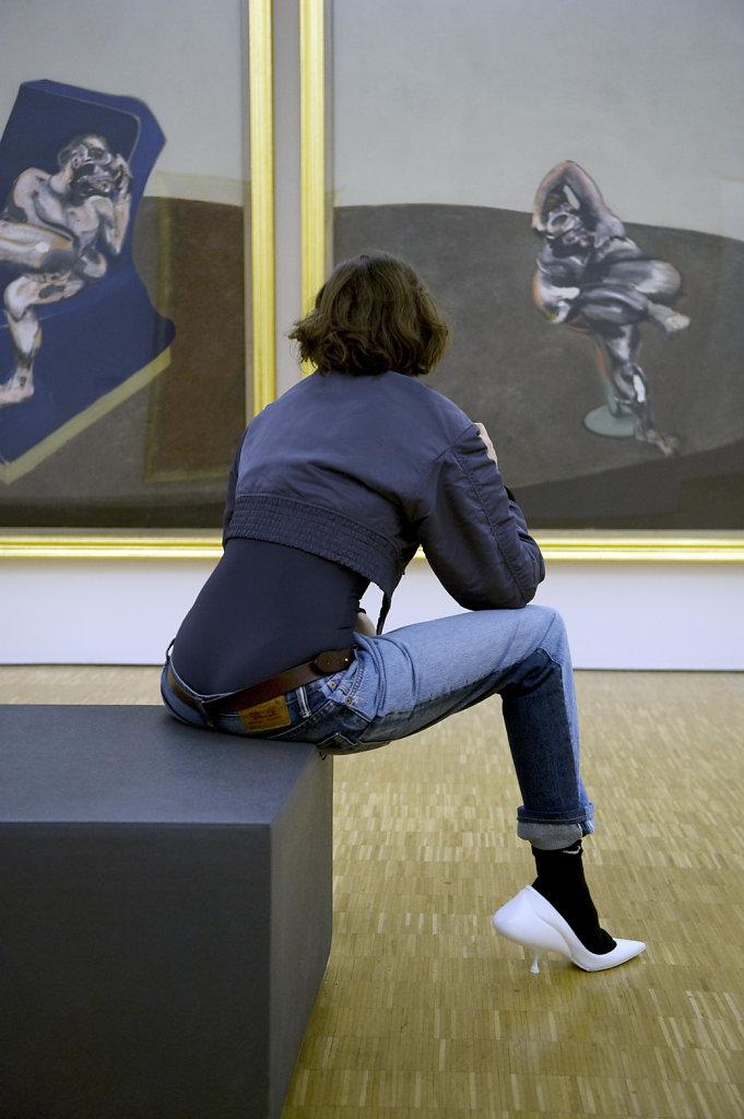 Laetitia Casta Francis Bacon Three Figures in a Room Centre Pompidou Paris 2016 Lurve Magazine