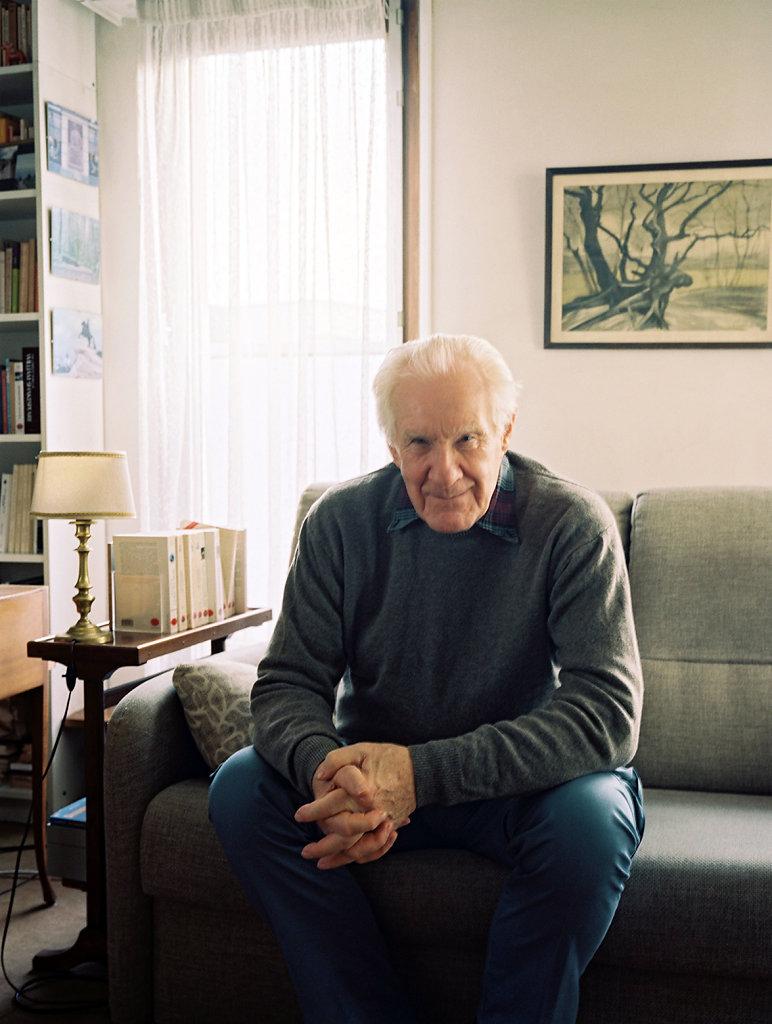 Le philosophe Alain Badiou