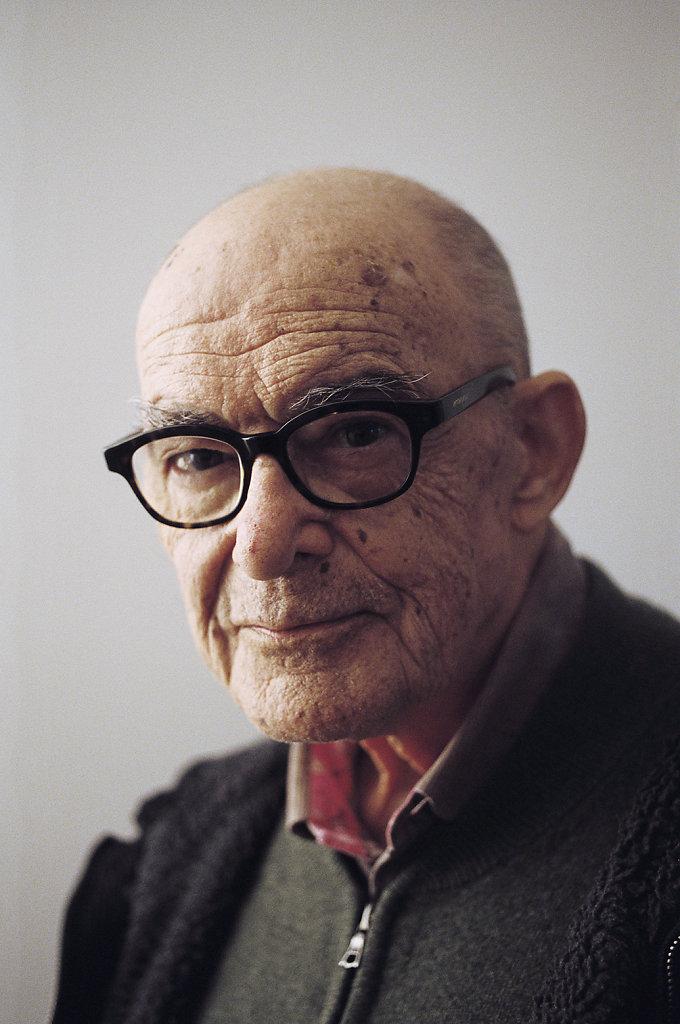 Le philosophe Jean-Luc Nancy